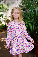 Платье для девочки ODWEEK PRETTY 340116  Разноцветное
