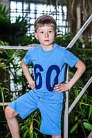 Шорты для мальчика ODWEEK SKY 341115 Голубой