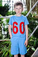 "Футболка для мальчика ODWEEK ""60"" 340113  Красный"