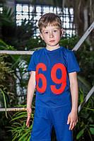 "Футболка для мальчика ODWEEK ""69"" 340109  Красный"