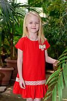 Платье для девочки ODWEEK FLAME 340106  Красный