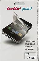 HTC Desire_400, глянцевая пленка  One SV/ST Dual (T528T)