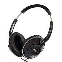Гарнитура A4Tech HS-700 Black, 2 x Mini jack (3.5 мм), накладные, регулятор громкости, кабель 1.8 м