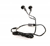 Гарнитура PrologiX ME-A100 Black, Mini jack (3.5 мм) 4pin, вакуумные, микрофон на проводе, кабель 1.2 м