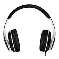 Гарнитура Sven AP-940MV Black/White, Mini jack (3.5 мм) 4pin, накладные, адаптер 2x3,5 мм (3 pin), микрофон, кожаные, кабель 1.2 м