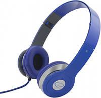 Наушники Esperanza EH145B Dark Blue, Mini jack (3.5 мм), накладные, складные, кабель 3 м