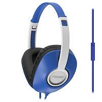 Наушники KOSS UR23i Blue, Mini jack (3.5 мм), накладные, микрофон на проводе, кабель 1.2 м