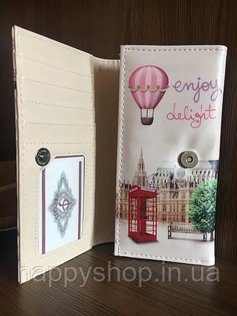 Женский кошелек-клатч Париж, фото 2