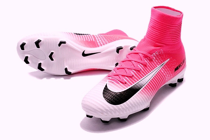 ac6e30ca Футбольные бутсы Nike Mercurial Superfly V FG Race Pink/Black/White -  Интернет-