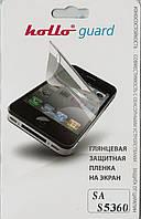 Samsung S5360 Galaxy Y, глянцевая пленка Hollo