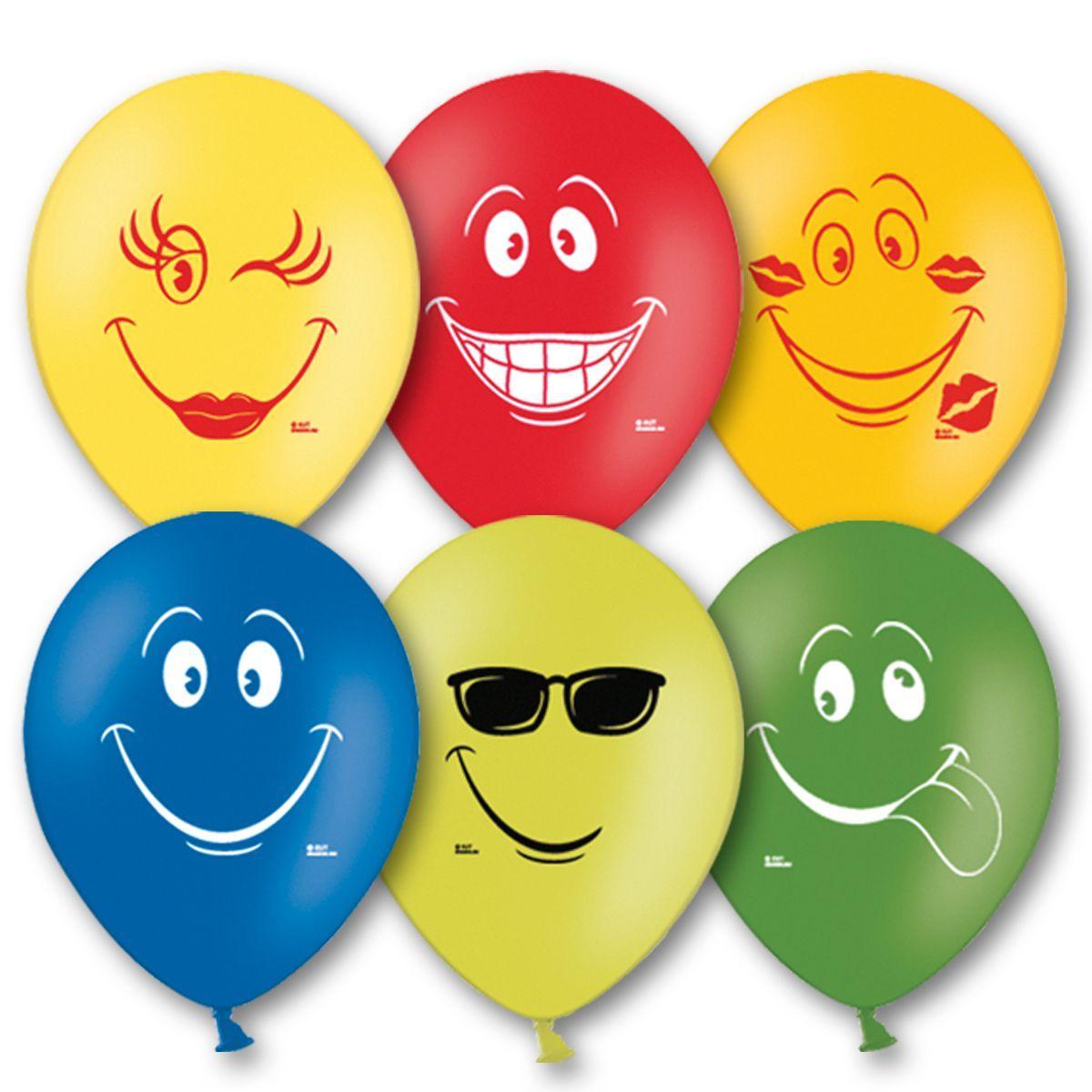 """Воздушные шары  Улыбка 10,5"""" (27 см), 50 штук в упаковке"""