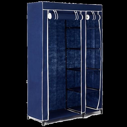 Тканевый шкаф Shoe Rack (2 секция) - шкаф для одежды с полками