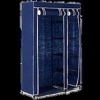 Тканевый шкаф Shoe Rack (2 секция) - шкаф для одежды с полками, фото 1