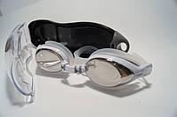 Очки для плавания взрослые ARYCA(зеркальные) черные и белые