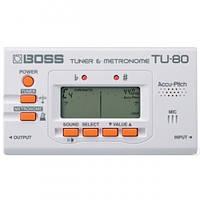 Boss TU80WH гитарный тюнер c метрономом