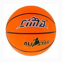 Мяч баскетбольный  резиновый №7 Sima