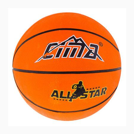 Мяч баскетбольный  резиновый №5 Sima