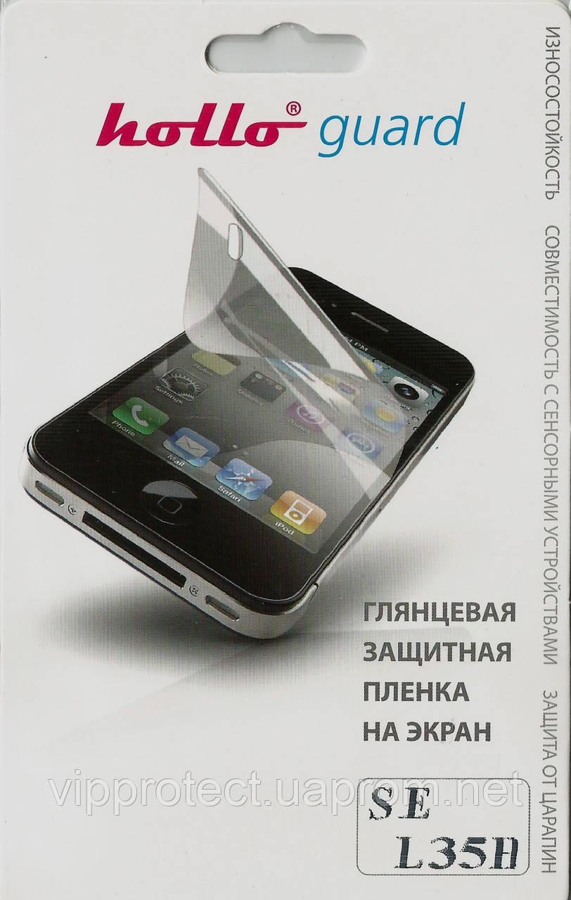 Sony Xperia_ZL, глянцевая пленка L35h