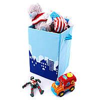 Детский ящик для хранения игрушек Город