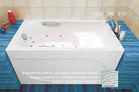 """Ванна акриловая Тритон """"Арго"""" 1200х700х610 с сиденьем"""