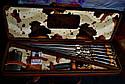 "VIP набор шампуров ""Буржуй"" с ручкой из мореного дуба, фото 2"