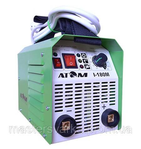 Сварочный инверторный аппарат Атом I-180M без кабелей, без байонетов