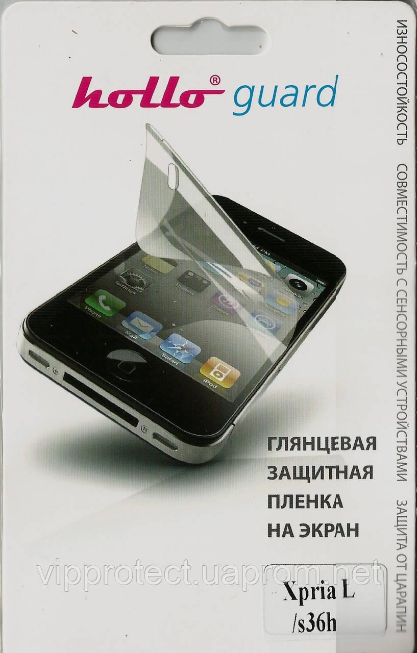 Sony Xperia_L, глянцевая пленка S36h