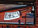 "VIP набор шампуров ""Царская охота"" 47см с ручкой из капа клена, фото 3"