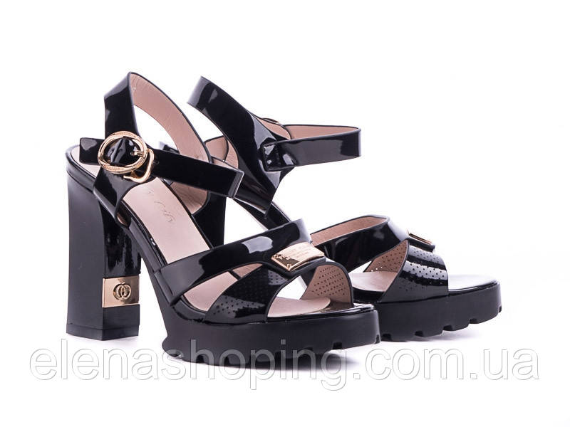 f37c4a707 Стильные молодежные босоножки черного цвета р.(36-38): продажа, цена ...