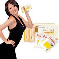 Пластырь для похудения и коррекции фигуры Slim Patch (10шт) Ohindo 10шт