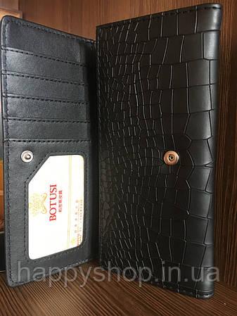 Женский кошелек Botusi (Черный), фото 2