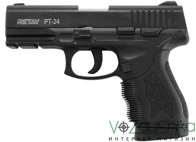 Стартовый пистолет Retay pt-24 black