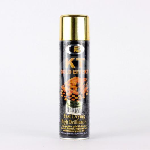Акриловая аэрозольная спрей-краска BOSNY NO. 182 BRASS GOLD (эффект золота), 300мл
