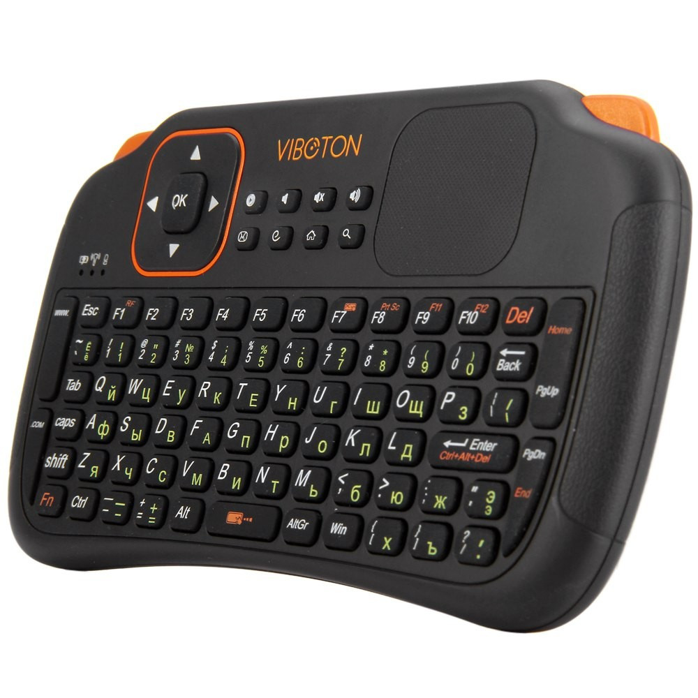 Viboton S1 мини клавиатура с русской раскладкой для Android / Google TV Box, PC, Xbox, PS3 и др.