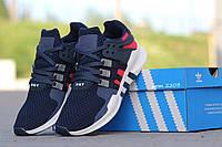 Кроссовки Adidas EQT(синий с красным)