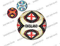 Мяч футбольный HT-0010, размер 5, ПВХ 1,6 мм, 1 слой, 32 панели, 260-280 г, 3 вида стран, активный отдых