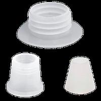 Набор уплотнителей для колбы большой, тонкий на 3 резьбы_ для шланга,плотный_ для чаши,плотный