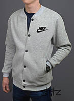 Модный весений бомбер мужской найк,Nike Bomber Jacket
