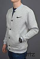 Модный осенний бомбер мужской найк,Nike Bomber Jacket