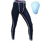 Компрессионные штаны Firepower-FPCP1-Black-White, фото 5