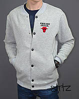 Модный спортивный бомбер,Chicago Bulls Bomber Jacket