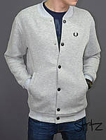 Модный бомбер мужской черный,Fred Perry Bomber Jacket