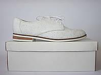 Женские туфли дерби Bronx оригинал Португалия натуральная кожа 36