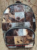 Принт Рюкзак женская Искусств кожа Новые модели красивый городской стильный только оптом, фото 1