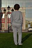 """Жіночий спортивний костюм """"PHILIP PLEIN"""" з трикотажу (Туреччина); розм 48,50,52,54; 2 кольори, фото 2"""