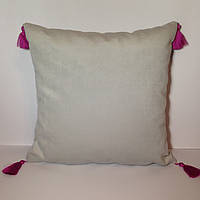 Декоративная подушка «Флоренция» с кисточками