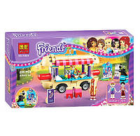 Конструктор Bela 10559 Friends. Фургон с хот-догами (аналог Lego Friends 41129)