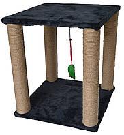 Игровой комплекс для кошек когтеточка 40х40х45