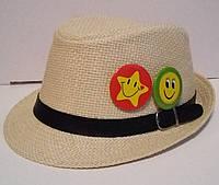 Стильная соломенная шляпа унисекс