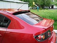 Спойлер заднего стекла ( козырек, бленда ) Mazda 3 седан 2003-2009 г.в. Мазда 3